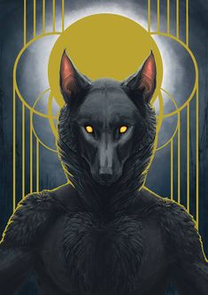 Mortal Soul - Werewolf via BeMonstrous on Etsy