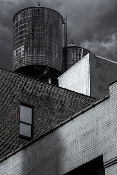 Water Tower Study 01 by ron.diel, via Flickr