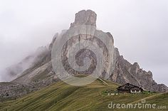 Alpine nature. The Dolomites. Italy
