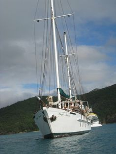 The Pacific Sunrise, our vessel for a 4 day sail in the Whitsunday Islands.  The most relaxing place in the world.