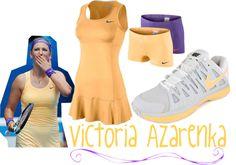 """""""Victoria Azarenka's 2013 Australian Open Look"""" by tennisexpress on Polyvore"""