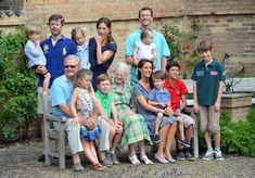 Fun and frolics for young Danish royals at annual summer photocall - Photo 1