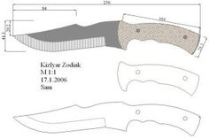 Чертежи ножей для изготовления. Часть 2 | LastDay Club image 55