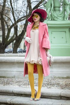 The amazingness never stops. I LOVE the pink and amber combo MACADEMIAN GIRL: PARISIAN MEMORY