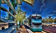 Downtown Phoenix, AZ Miss Arizona, Arizona State, Phoenix Arizona, Downtown Phoenix, Maricopa County, Light Rail, Train Tracks, Denver, Places To See
