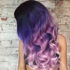 Elfjesachtige+color+ombre+kapsels+voor+dames+met+lange+haren!