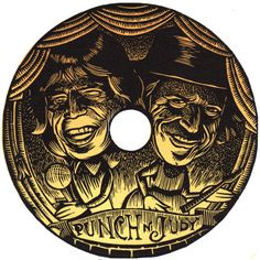 Mick Jagger and Keith Richards as Punch and Judy by kkyingst, $50.00