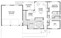 Plan No.132029 House Plans by WestHomePlanners.com