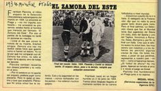 1934- Mundial de Italia Partido final entre Italia y Checoslovaquia disputado el 10 de junio de ese año. El triunfo correspondió a Italia por 2 a 1  En el equipo campeón jugaron otros los argentinos, Orsi, Monti y Guaita. *Texto publicado el lunes 11 de junio de 1934 en el diario La Stampa, de Italia.