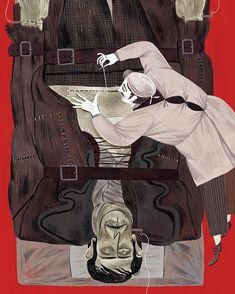 Julia Sarda, Mary Shelley, Frankenstein, Illustration Art, Illustrations, Fairy Tales, The Creator, Creatures, Animation