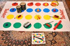 Students create performance art and practice gross motor coordination in this twist on the classic...