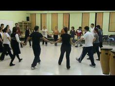 This looks like a fairly simple folk dance