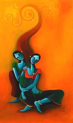 African Art Paintings, Modern Art Paintings, Madhubani Art, Madhubani Painting, Rajasthani Painting, Indian Folk Art, India Art, Bunt, Art Drawings