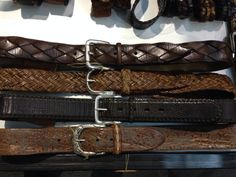 http://chicerman.com  dittrich-alte-molkerei:  New Fausto Colato Belt Selection at Premium Berlin  #menshoes