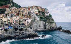 Download wallpapers Positano, 4k, village, sea, Amalfi Coast, Costiera Amalfitana, Campania, Italy, Europe
