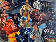 Amazing Star Wars movie art posters