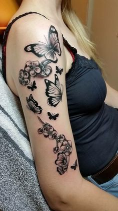 Wow this is beautiful # tattoos # all - meins - Henna Designs Hand Forearm Flower Tattoo, Tattoo Henna, Henna Tattoo Designs, Forearm Tattoos, Body Art Tattoos, Butterfly Sleeve Tattoo, Gorgeous Tattoos, Pretty Tattoos, Unique Tattoos