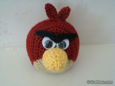 Free Crochet Pattern - Angry Birds!  http://www.craftown.com/Angry-Birds.html