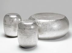 Banqueta / mesa de centro de alumínio ANTICO by KARE-DESIGN