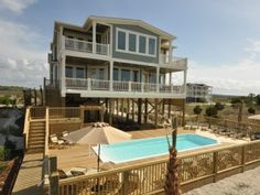 Holden Beach House Rental: Oceanfront - 16 Bedrooms / 17 Bath - Sleeps 32 To 50 In Private Estate Community | HomeAway