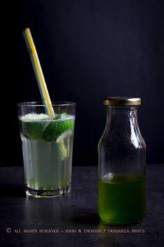 Fügefa levél szörp és limonádé - Ételérzés Online Főzőiskola Glass Of Milk, Lime, Drinks, Food, Mint, Thermomix, Drinking, Limes, Beverages