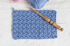 How To: Crochet The Suzette Stitch - Easy Tutorial