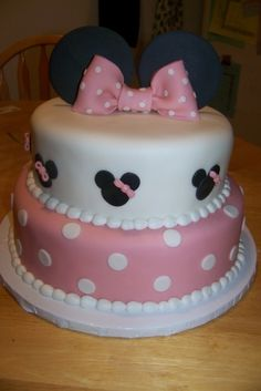 Minnie Mouse By mommyjones on CakeCentral.com