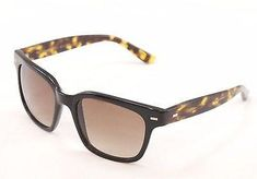 860655379bb0 Sama Sunglasses Frame Nero Black Tortoise Lenses Plastic Japan Made 54-19 -137