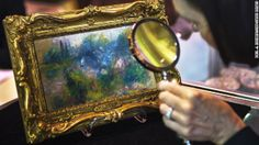 """A Renoir painting finished in the 1800s, loaned to a museum, reported stolen in 1951 and then bought at a flea market in 2010 has to be returned to the museum, a judge ruled January 10. The 5½-by-9-inch painting, titled """"Landscape on the Banks of the Seine,"""" was bought for $7 at a flea market by a Virginia woman. The estimated value is between $75,000 and $100,000."""