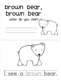 149 Best Brown Bear Brown Bear What Do You See By Bill