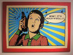 Rokkia transistorista.Transistorit ja rock'n'roll ovat populaarikulttuurin alkuaikojen tunnusmerkkejä.
