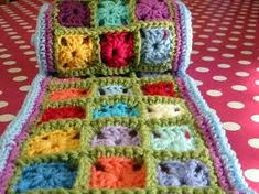 Image result for multi coloured granny squares