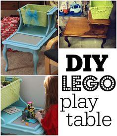 It's a Long Story: DIY Lego Table