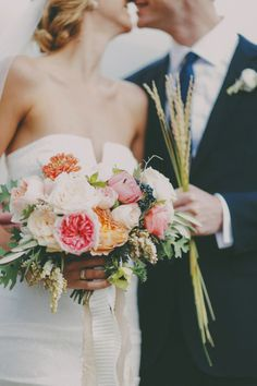 Adorable upclose bouquet. Photo by Gideon Photography