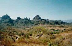 Parque Estatal Chapa de Mota en el Estado de México.