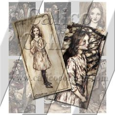 Rackham Alice in Wonderland  Instant Download by calicocollage, $4.15