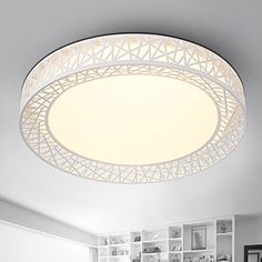 Mh-Rita Modern Simple Living Room Lamp Oblong Led Ceiling Lamp Fashionable And Warm Bedroom Lamp 45Cm ??