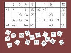 - Exercicis de numeració amb el quadre numèric. - Número anterior i posterior. - Identificar els números que falten. - Escriptura de números al quadre. - Ordenació de números al quadre. - Relacions entre números. - Activitats interessants amb el quadre numèric - Activitats per a Cicle Inicial de primària.