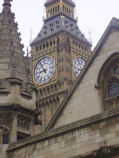 #BigBen Clock from Westminister Abbey