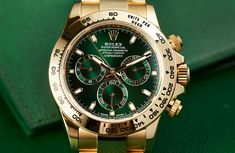 HANDS-ON: Everlasting lustre – the Rolex Daytona in yellow gold with green dial (ref. 116508)