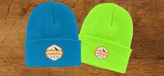 Mountain Gear, Custom Embroidery, Beanies, Looks Great, Logo, Fashion, Logos, Moda, Beanie Hats