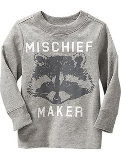 """""""Mischief Maker"""" Tees for Baby"""