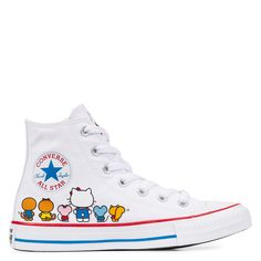 1eb5fb947b3e Converse x Hello Kitty Chuck Taylor All Star White Prism Pink White white