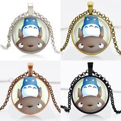 Find More Pendant Necklaces Information about 10pcs My Neighbor Totoro Logo Round Pendant Women Choker Statement Necklace For Men Dress Accessories DF91060,High Quality necklace tank,China necklace skeleton Suppliers, Cheap necklace finding from DreamFire Store on Aliexpress.com
