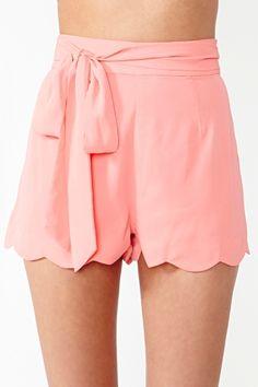 Pixie Scalloped Shorts ♥