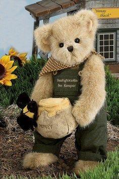 "BEARINGTON BEAR  ""  BUMBLE & BEE ""  RETIRED"
