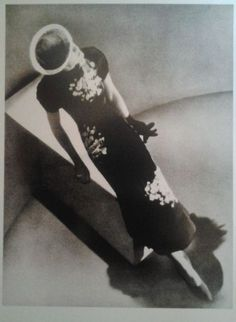 Man Ray for Harper's Bazaar, Dress by Schiaparelli, 1936.