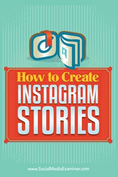 Want to learn how to publish Instagram Stories?  Instagram Stories allow you to record live video or take photos with your smartphone and add them to a story that lasts for only 24 hours.  In this post, you'll discover how to create Instagram Stories and respond to people who engage with your Stories. Via @smexaminer.
