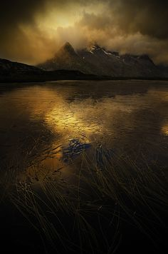 wowtastic-nature:dark lake by  Marco Barone on 500px.com (Original Size - Height: 800px - Width: 530px)