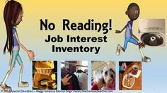 """Just finished this long awaited item!  This is a 61 page """"NO READING"""" all pictures Job Inventory for students with Moderate/Severe disabilities.  One of the hardest parts of my previous job (Transition Coach for 16 different districts) was testing students with moderate/severe disabilities to find out """"what"""" kind of job """"they"""" were interested in."""